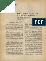 Congreso de Latín vivo y su proyección pedagógica
