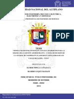 Tipula Cañazaca Elmer Luque Mamani Ramiro