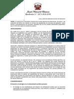 Res. 2873-2018-Jne - Establecen Reglas Para Expedientes de Exclusión Que No Han Sido Comprendidos en Las Audiencias Públicas Hasta El 7 de Setiembre de 2018 y Cuyas Decisiones de Primera Instancia No Han Adquirido Firmeza.