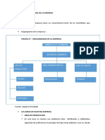 Diseño Organizacional de La Empresa