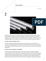 Types of Electrical Conduit