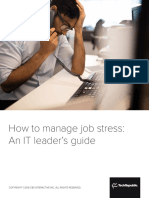 How to Manage Job Stress