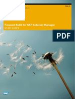 SAP FocusedBuild SecurityGuide