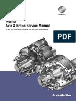 Meritor Axle & Brake Service Manual