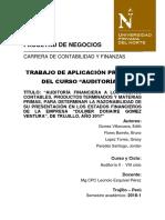 Auditoria Ladrillera Gomez Final