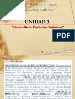 UNIDAD 3 Desarrollo de Nuevos Productos LIC MIRIAM AZCURRA LIC