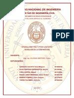 Concreto-peso Unitario de La Piedra.