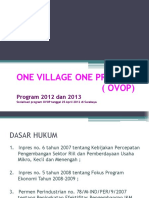 OVOP Sosialisasi Surabaya (One Village One Product)