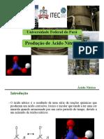 Aula 06- Produção de Ácido Nítrico