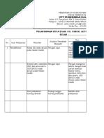PDCA Tiap Unit Pelayanan