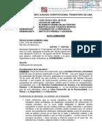 Amparo del IPYS contra la Ley Mulder