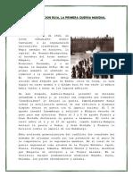 La Revolucion Rusa, La Primera Guerra Mundial 3