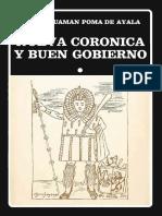 Guamán Poma de Ayala Nueva Corónica y Buen Gobierno Tomo I