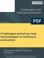 5G Testing Training by TELCOMA Global