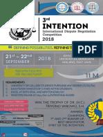 INTENTION 2018