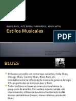 Estilos Musicales más Populares