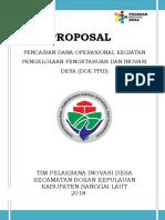 Contoh Proposal TPID Kec Bokan Kep