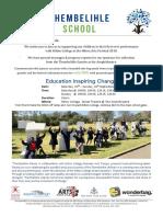 Thembelihle School - Hilton Arts Festival 2018