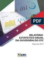 Relatório Estatístico Da Ouvidoria Do CFC 2017