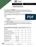 Producto Académico n 02 Contabilidad Gerencial