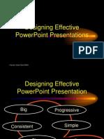 Designing Effective PowerPoint Presentations
