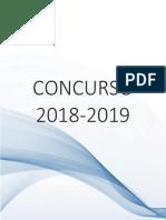 Llamado a Concurso 2018 2019