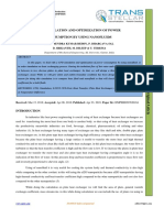CFD SIMULATION AND OPTIMIZATION OF POWER  CONSUMPTION BY USING NANOFLUIDS