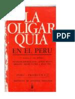 La oligarquía en el Perú