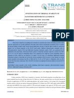 EXPERIMENTAL INVESTIGATION OF THERMAL STABILITY OF  CARBON NANOTUBES REINFORCED ALUMINIUM  MATRIX USING TGA-DSC ANALYSIS
