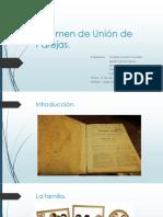 Régimen de Unión de Parejas