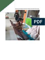 1.1.1.3 Foto Pemberian Informasi Kepada Masyarakat Tentang Jadwal Dan Jenis Pelayanan
