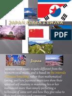 Japan, Korea & China