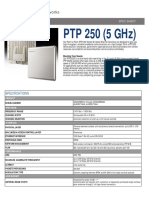 Radio Trunk Ptp250