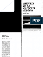 Historia de la filosofía romana - Adolfo Levi.pdf