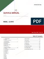 LG G4 H815 Service Manual