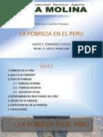 La Pobreza en El Peru Exposicion