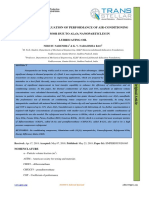 EXPERIMENTAL EVALUATION OF PERFORMANCE OF AIR-CONDITIONING  COMPRESSOR DUE TO AL2O3 NANOPARTICLES IN LUBRICATING OIL