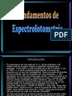 Espectrofotometria QF