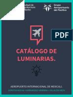 Catálogo Luminarias