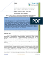 MULTI-RESPONSE OPTIMIZATION OF PROCESS PARAMETERS OF  GREEN ELECTRICAL DISCHARGE MACHINING ON AISI 2507  SUPER DUPLEX STAINLESS STEEL USING GREY  RELATIONAL ANALYSIS (GRA)