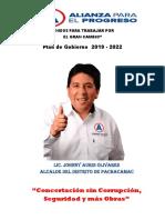 Johnny Auris Olivares-Alianza para el Progreso