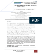 A customer investment behaviour 9.6, Dr. Shamira Malekar.pdf