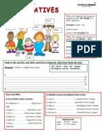 Comparatives Ingles intermedio