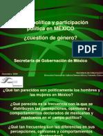 Cultura Politica Participacion Genero Mexico 2004
