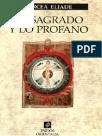 Mircea Eliade Lo Sagrado y Lo Profano PDF
