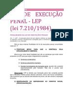 05. Lei de Execução Penal