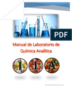 Manual de Laboratorio de Quimica Analitica