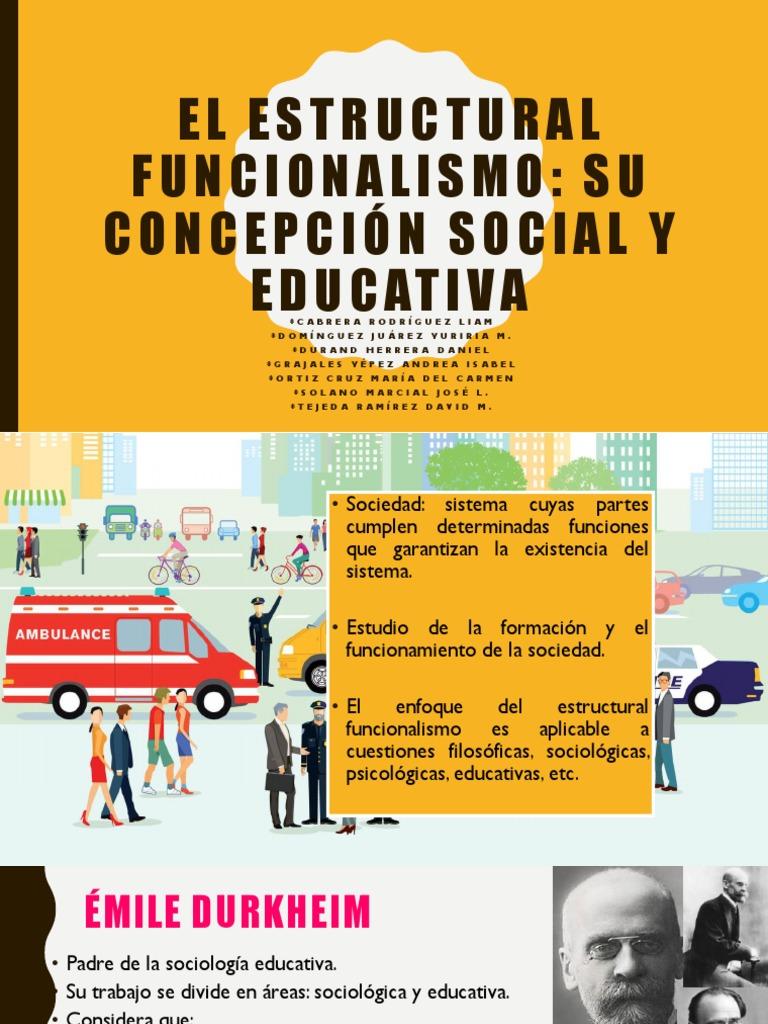 El Estructural Funcionalismo Socialización Sociología