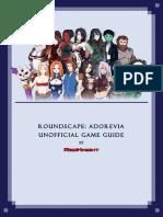 [Roundscape Adorevia] Unnoficial Game Guide (2)