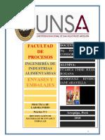 Práctica 1 Identificación de Materiales de Envase y Embalaje